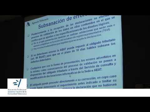 SESIÓN INFORMATIVA AEAT Novedades sede electrónica
