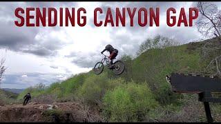 Sending Canyon Gap at Los Angeles Secret Trail / First ride with DVO Jade X on Yeti SB165 / 3/20/20