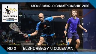Squash: Matthew v Rösner - Men's World Championship 2016 Rd 3 Highlights