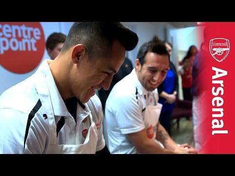 Santi and Alexis open Centrepoint facility