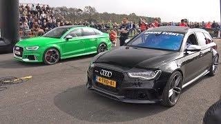 Audi RS3 Sedan vs Audi RS6 Avant C7