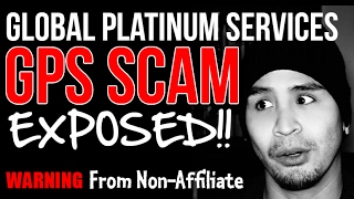 WARNING!! Global Platinum Services Review Scam? Travel Club Program Business Comp Plan