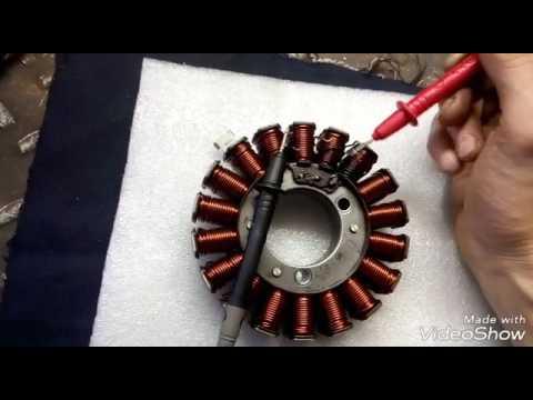 Перемотка катушки генератора своими руками 79