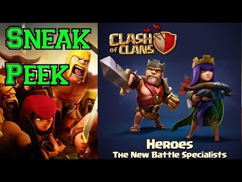 NEW and IMPROVED Heroes! | Barbarian King & Archer Queen ...