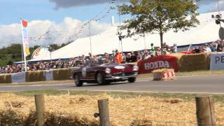 CarFest South 2014 - Hill Climb Action - Magnificent 7 and Sporting Bears Dream Rides.
