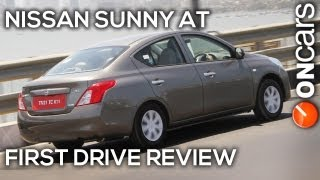 Nissan Sunny Xtronic CVT First Drive Review