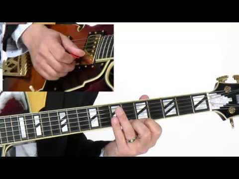 50 Hard Bop Blues Licks - #24 Extended Encapsulation - Guitar Lesson - Tom Wolfe