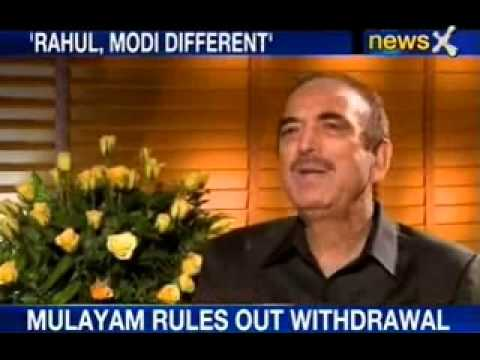NewsX Exclusively catches up with Ghulam Nabi Azad