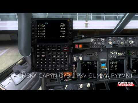 PMDG 737 NGX   Full FMC/CDU Voice Tutorial EASY!!