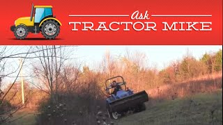 How Steep a Slope Can I Take My Tractor On?
