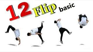 12 động tác nhào lộn cơ bản và thông dụng nhất trong freerunning