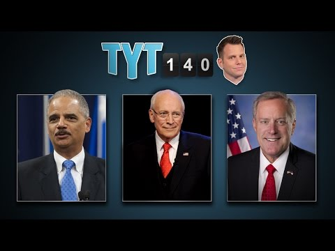 Holder Leaving, Bombing Isis, Navajo Settlement & Government Porn | Tyt140 (september 25, 2014) video