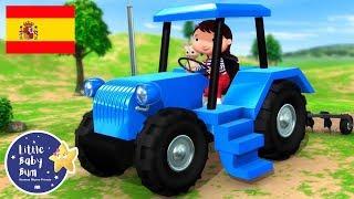 Canciones Infantiles | La Canción del Tractor | P. 2 | Dibujos Animados | Little Baby Bum en Español