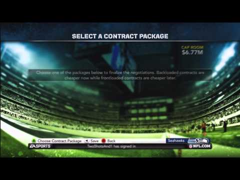 Madden NFL 12 Seahawks Franchise | [Y2]: The Offseason!