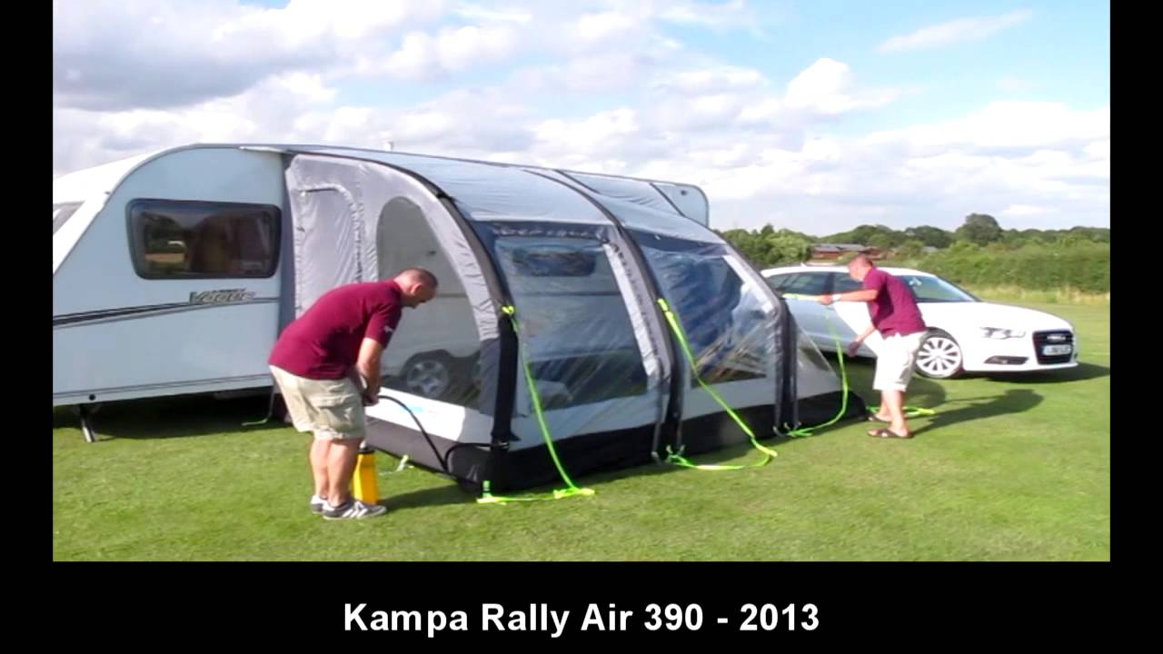 Kampa Rally Air 390 Youtube