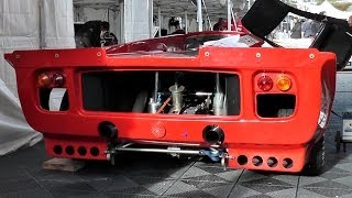 LOLA T70 WOW!! Brutal V8 Exhaust Sound!