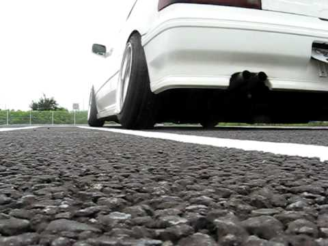 EF3 CIVIC Si Exhaust