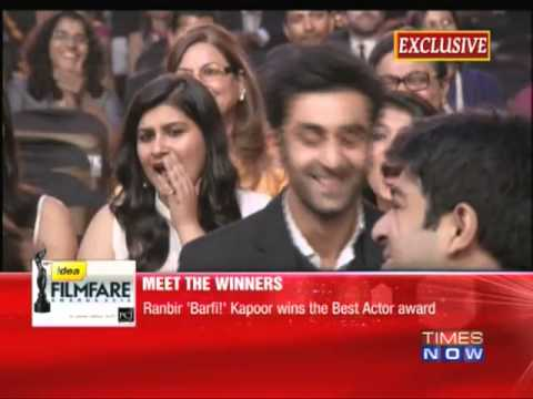 Filmfare Awards 2012 - Meet the winners!