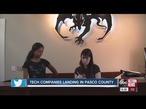 Pasco County drawing more tech companies