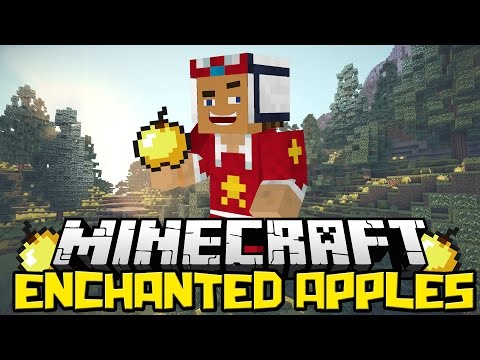 ♠ Mod Review: Enchanted Apples Mod - 1.7.2 ♠ video