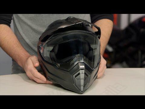 AGV AX-8 DS Carbon Fury Helmet Review at RevZilla.com