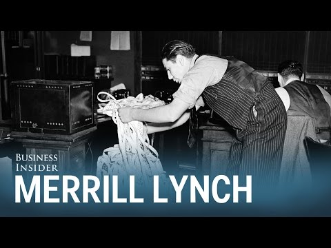 How Merrill Lynch changed the way people are paid on Wall Street