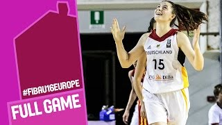 Germany v Spain - Full Game - FIBA U16 Women's European Championship 2016
