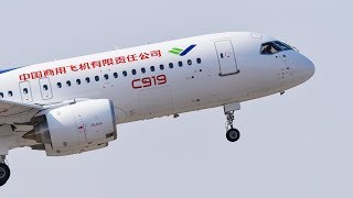 Three new Comac C-919 models will be airborne by 2020