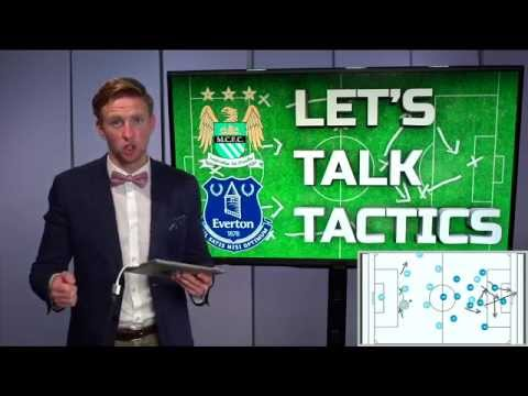 Manchester City vs. Everton [YAYA TOURE GOAL: AGUERO INJURY]