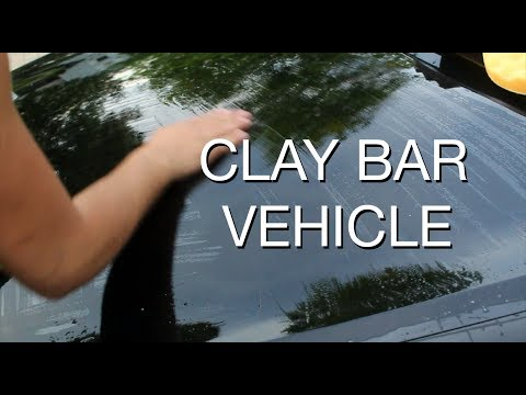 DIY: Remove Paint Contamination with a Clay Bar Kit