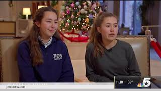 Young Sisters Raise $1 5 Million Selling Origami Ornaments   NBC 5 Dallas Fort Worth
