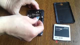 Как вставить SIM-карту в Lexand Callisto (X-DRIVERS.RU)
