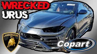 2019 Lamborghini Urus on Copart // Wrecked $300,000 Super Car on Copart Auto Auction