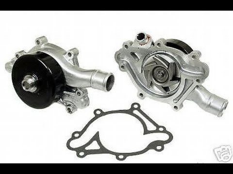 Dodge v8 5.2l 5.9l Magnum water pump replacement