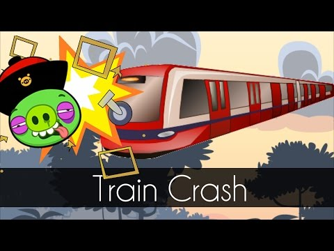 Bad Piggies - TRAIN CRASH (Field of Dreams)