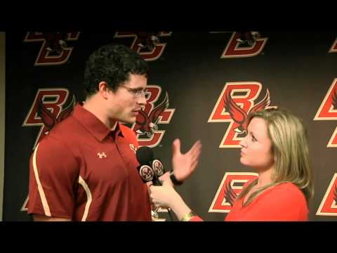 Luke Kuechly visits campus for NFL Pro Day
