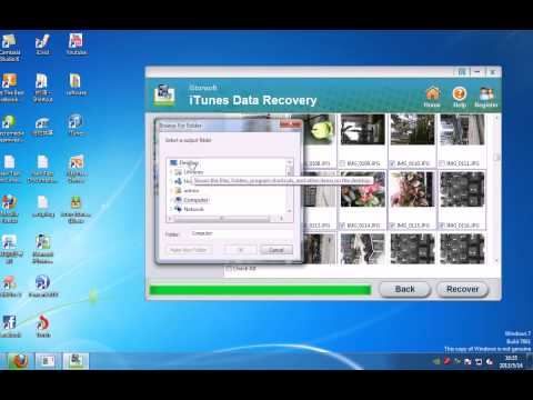 iStonsoft iTunes Data Recovery Windows - Extract Backup from iTunes