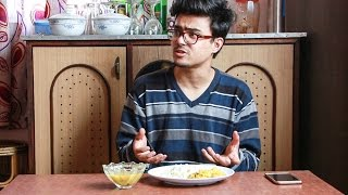 "When you're too ""Standard"" to eat with your hand 