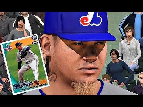 MLB The Show 16 - FLASHBACK FELIX HERNANDEZ TAKES THE MOUND!! - Diamond Dynasty #21