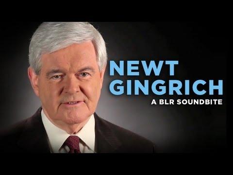 """""""Newt Gingrich"""" — A BLR Soundbite"""
