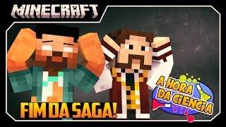 "Minecraft: A Hora da Ciência! #8 ""TERRA PROMETIDA E FIM DA SAGA ÉPICA!!"""