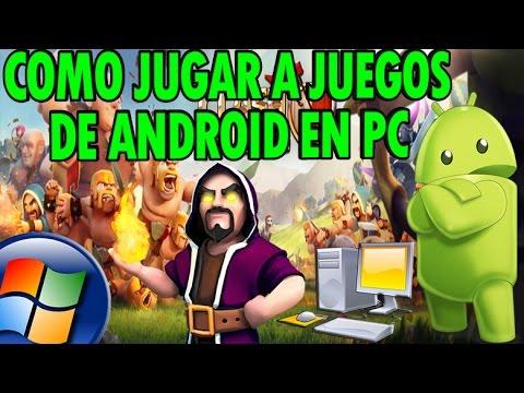 Como Jugar Juegos De Android Tu PC Windows XP/Vista/7/8/8.1