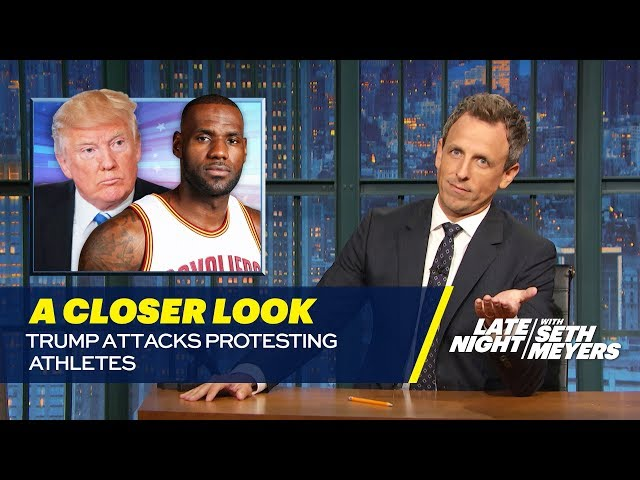 Trump Attacks Protesting Athletes A Closer Look