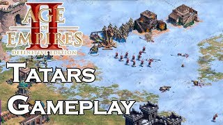 AOE2:DE | Tatars Multiplayer Gameplay