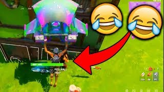 FUNNIEST LAUNCHPAD WIN!!! (Fortnite Battle Royale)