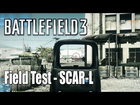 Battlefield 3: SCAR-L, Flash Suppressor - Close Quarters Field Test Ep.10