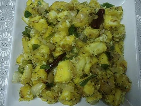 Tapioca Masala  Kappa Masala  Tapioca Upma  - Traditional Kerala...