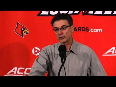 Rick Pitino Samford Post-Game 11-13-2015
