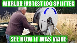 WORLDS FASTEST LOG SPLITTER WALK AROUND - HOW IT