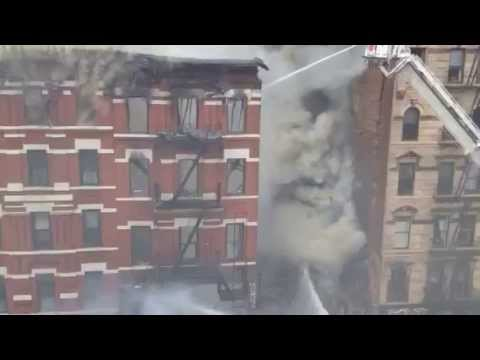 FDNY MAJOR BUILDING COLLAPSE 125 2 AVE NYC